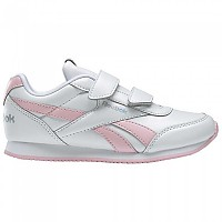 [해외]리복 Royal CL Jogger 2 Velcro White / Pink Glow / Iridescent