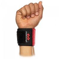 [해외]맥데이비드 X-Fitness Flex Fit Wrist Wraps Black / Scarlet