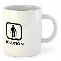 [해외]KRUSKIS Mug Problem Solution Train White