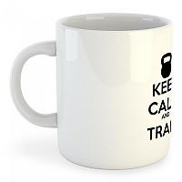 [해외]KRUSKIS Mug Keep Calm And Train White