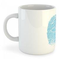 [해외]KRUSKIS Mug Crossfit Fingerprint White