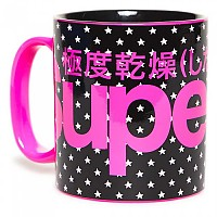[해외]슈퍼드라이 Super Logo Black Star / Pink
