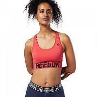 [해외]리복 Workout Ready Meet You There Seamless Padded Rebel Red