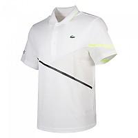 [해외]라코스테 Sport Contrast Accent Breathable White / Black / Zest Fluor