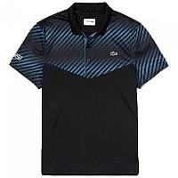 [해외]라코스테 Sport Technical Striped Blur Black / Blue / White