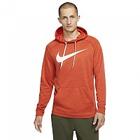 [해외]나이키 Dri Fit Swoosh Hoodie Regular Team Orange / Night Maroon / Heather / White