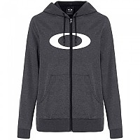 [해외]오클리 APPAREL Ellipse Full Zip Hoodie Blackout Light Heather