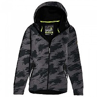 [해외]슈퍼드라이 Core Gym Tech Asphalt Marl / Sketch Camo