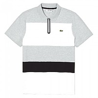 [해외]라코스테 Sport Ultra Light Colorblock Cotton Silver Chine / White / Black