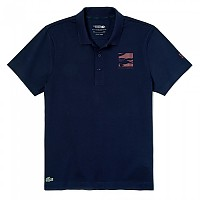 [해외]라코스테 Sport Novak Djokovic Badge Lightweight Cotton Navy Blue / Medoc