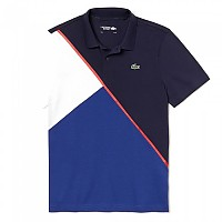 [해외]라코스테 Sport Colorblock Ultra Light Cotton Navy Blue / Ocean / White / Red