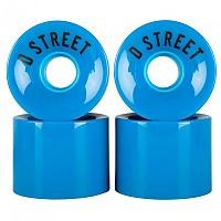 [해외]D STREET Wheels 4 Pack Blue