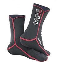 [해외]GUL Ecotherm Bamboo Thermal Socks Junior Black / Red