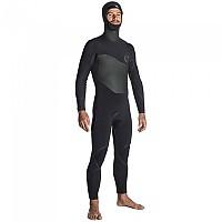 [해외]립컬 FlashBomb Plus 6/4 Zip Free Hooded Steamers Black