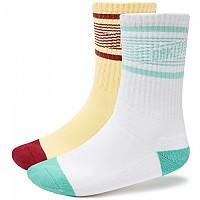 [해외]오클리 APPAREL Striped 2 Pairs White