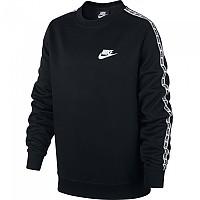 [해외]나이키 Sportswear Repeat Crew Black / White