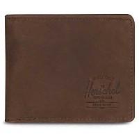 [해외]허쉘 Hank Coin RFID Nubuck Brown Leather
