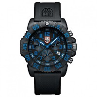 [해외]루미녹스 Navy Seal Colormark Chrono 3083 PU Black / Black-Blue