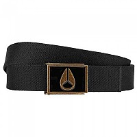[해외]닉슨 Enamel Wings Belt Black / Brass