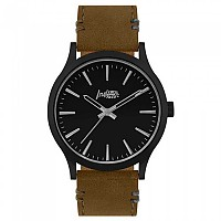[해외]THE INDIAN FACE Latitude Black With Brown Strap