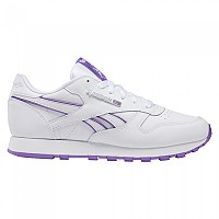 [해외]리복 CLASSICS Leather White / Grape Punch