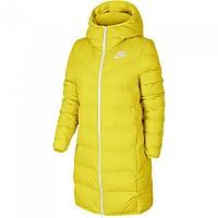 [해외]나이키 Sportswear Windrunner Down Fill Chrome Yellow / Chrome Yellow / Mineral Teal