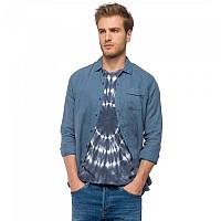 [해외]리플레이 Garment Dyed Linen Greyblue