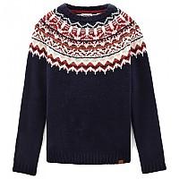 [해외]팀버랜드 Fair Isle Sweater Dark Sapphire