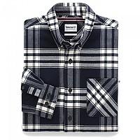 [해외]팀버랜드 Regular Back River Heavy Flannel Check Dark Sapphire YD