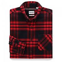 [해외]팀버랜드 Regular Back River Heavy Flannel Check Barbados Cherry YD