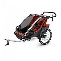 [해외]툴레 Chariot Cross 2 Orange / Dark Shadow