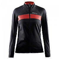 [해외]크래프트 Jacket Women Siberian Thermal-wind Black / Bright Red