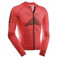 [해외]엑스 바이오닉 Effector Biking Powershirt L/S Full Zip Flash Red / Black