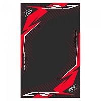 [해외]HURLY Mat CRF 100x160 cm Black / Red