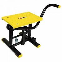 [해외]RTECH Foot Lift Bike Stand With Cross TPU Plate Yellow