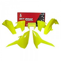 [해외]RTECH Plastics Kit Husqvarna FE/TE/TX Neon Yellow / Neon Yellow