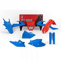 [해외]RTECH Plastics Kit KTM EXC/EXC-F Blue / Orange