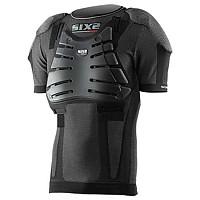 [해외]SIXS Kid S/S With Shoulders Back And Chest Prot Black Carbon
