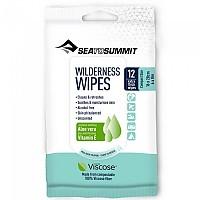 [해외]씨투서밋 Wilderness Wipes Compact Aloe Vera / 12 Units Pack