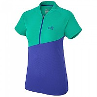 [해외]밀레 Elevation Zip S/S Purple Blue / Dynasty Green