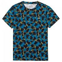 [해외]라코스테 Sport Camouflage Print Cotton Black / Illumination Brousse