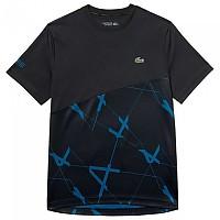 [해외]라코스테 Sport Geometric Design Breathable Pique Black / Illumination