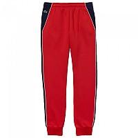 [해외]라코스테 Sport Colorblock Bands Fleece Red / Navy / White