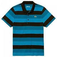 [해외]라코스테 Sport L.12.12 Striped Ultra Light Cotton Black / Illumination / Sumatra