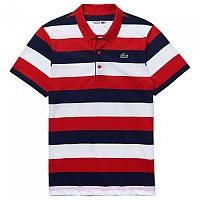 [해외]라코스테 Sport L.12.12 Striped Ultra Light Cotton Red / Navy / White