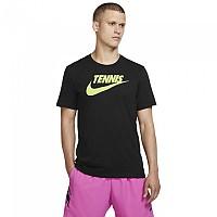[해외]나이키 Court DFCT Tennis GFX Black / Volt