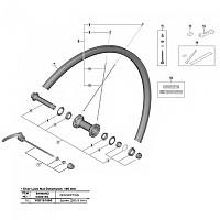 [해외]시마노 Front Spoke RS700 C30 튜브less