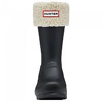 [해외]HUNTER 오리지날 Sheepy Fleece Cuff Boot Natural White