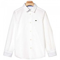 [해외]라코스테 Contrast Finishes Oxford Cotton White