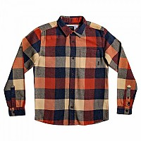 [해외]퀵실버 Motherfly Flannel Youth Burnt Brick Motherfly